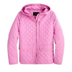 J. Crew Packable Quilted Field Jacket: Dusty Peony